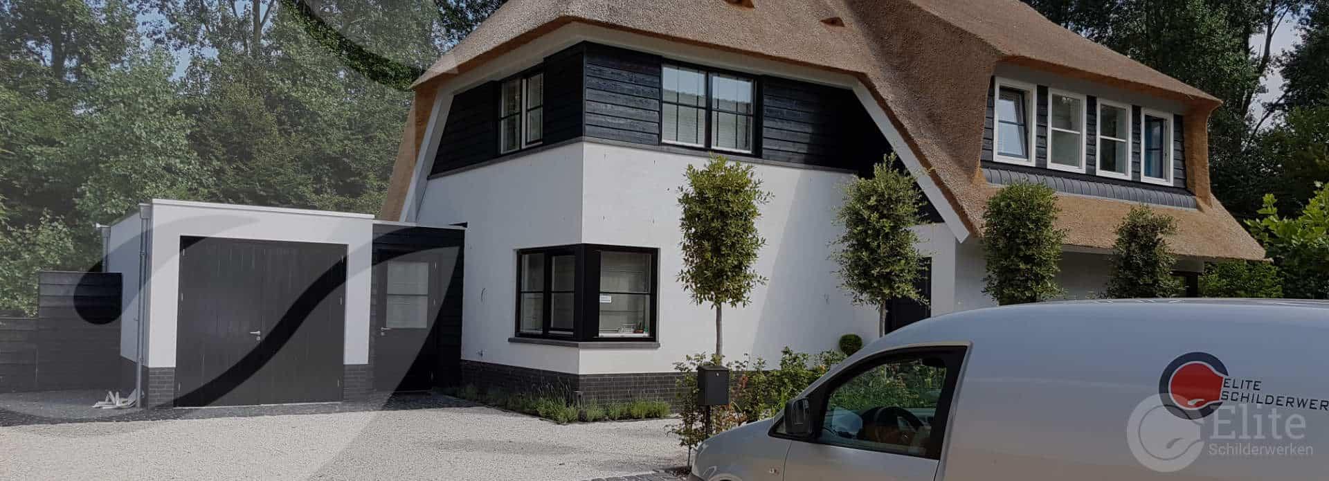 elite schilderwerken buitenschilderwerk villa almere